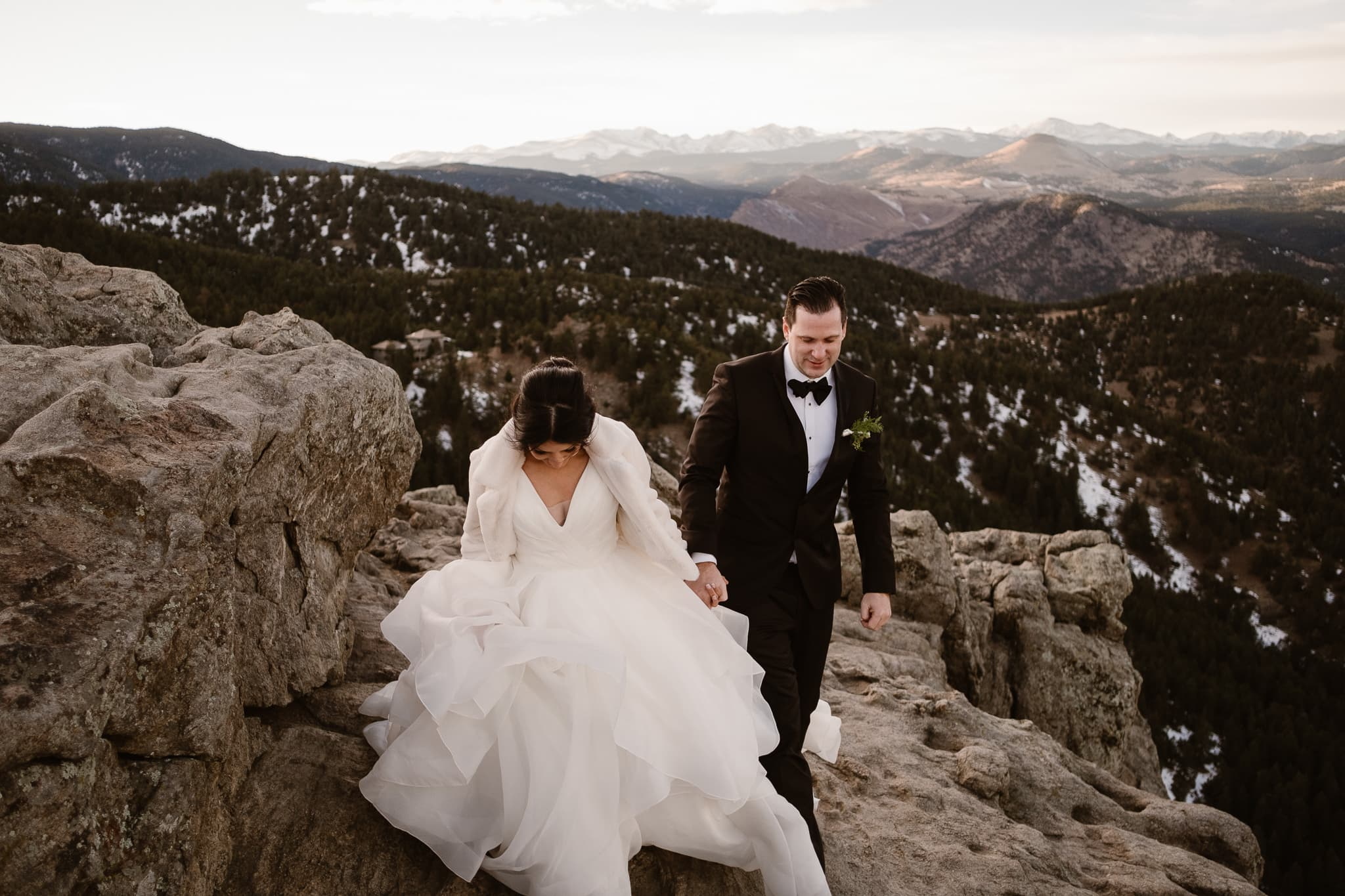 St Julien Wedding Photographer Boulder, Lost Gulch wedding portraits, Colorado wedding photographer, mountain wedding photos