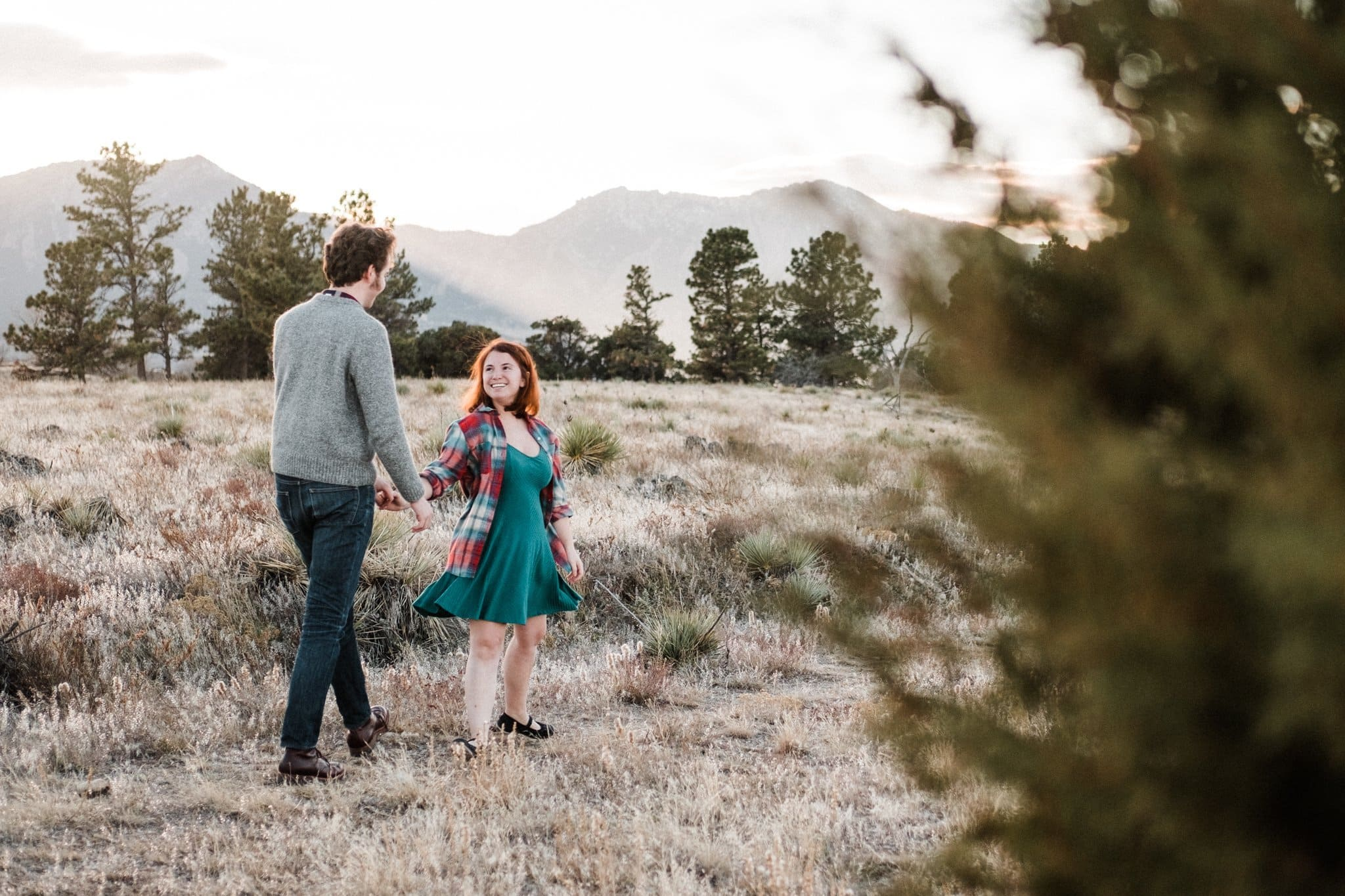 Legion Park in Boulder, Colorado engagement session locations