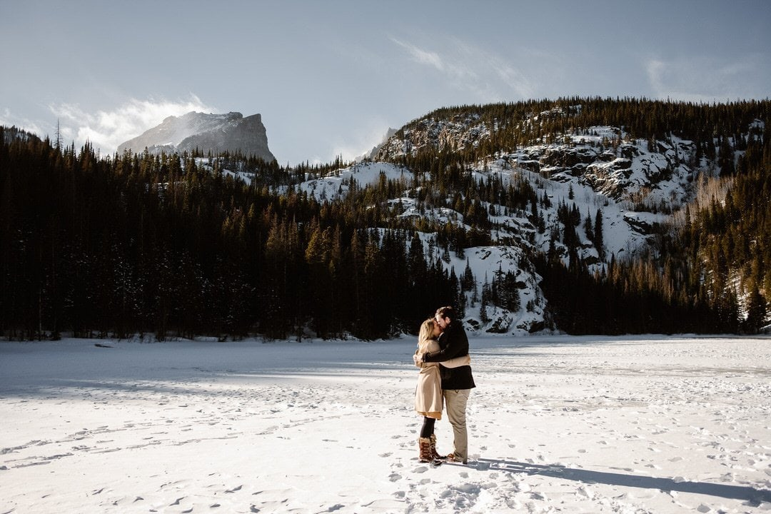 Bear Lake in Rocky Mountain National Park, RMNP elopement locations