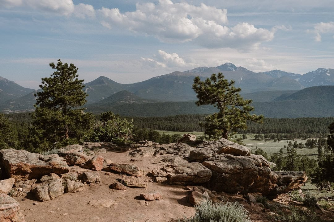 3M Curve Rocky Mountain National Park wedding locations, elopement location in RMNP