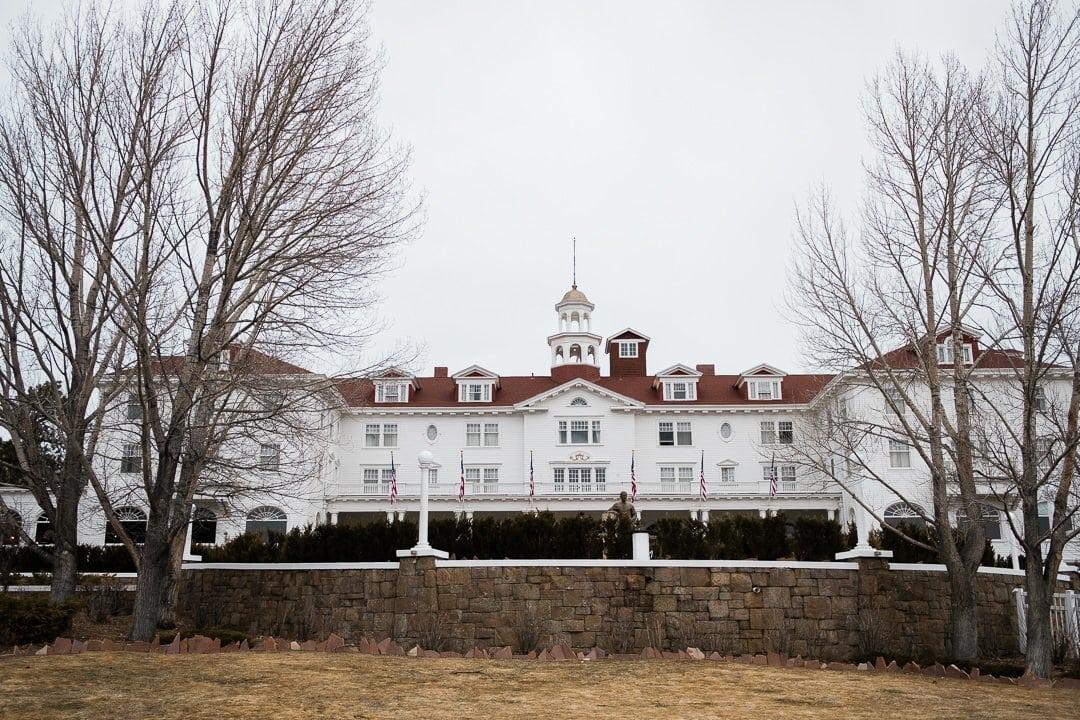 The Stanley Hotel wedding venue in Estes Park