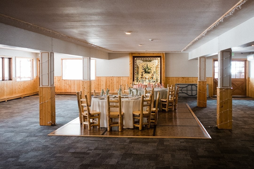 Wild Basin Lodge in Allenspark, Boulder county wedding venue