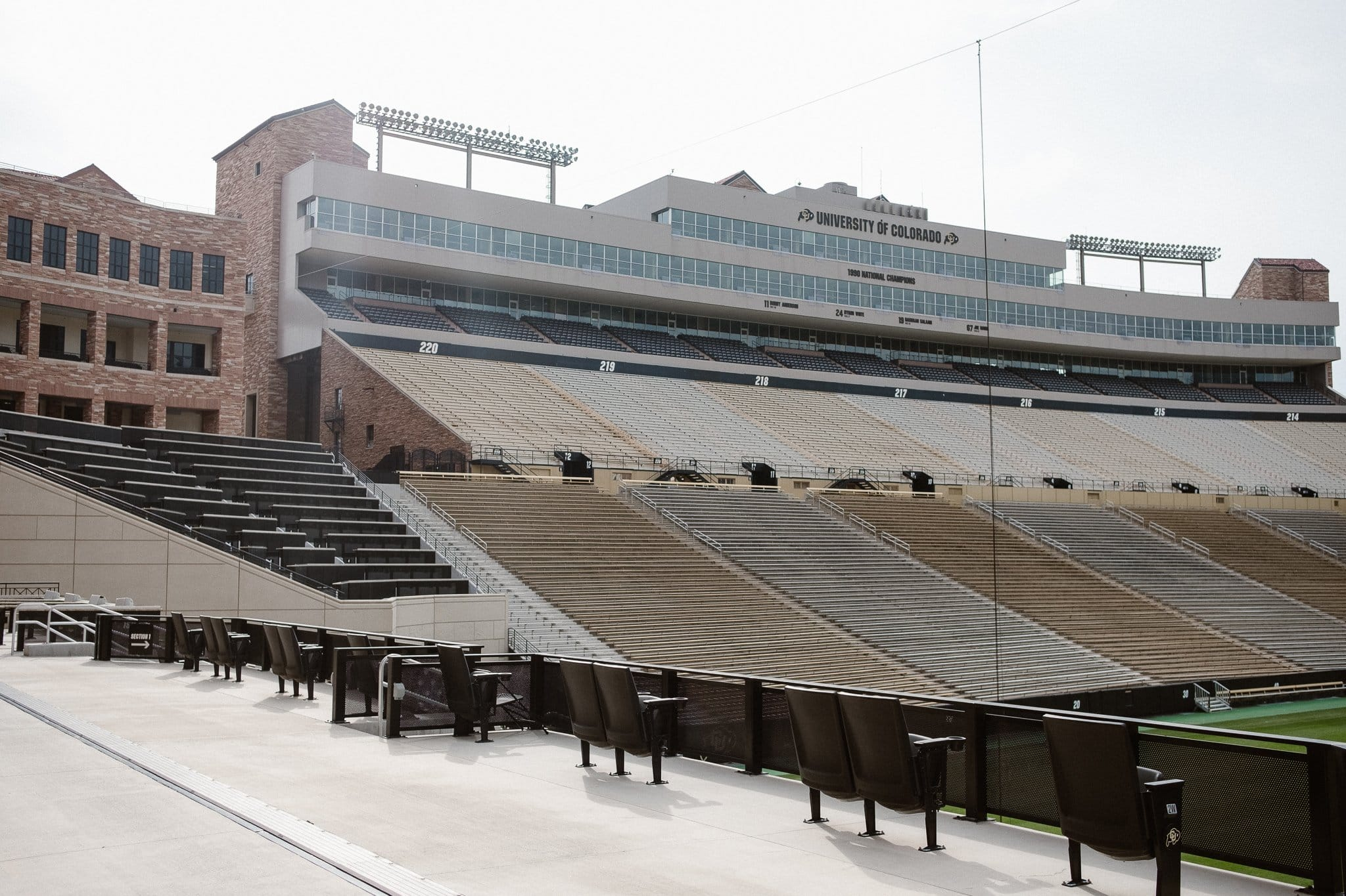 Folsom Field CU Boulder wedding venue