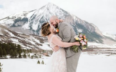 Alaina + Andrew's Crested Butte Winter Elopement