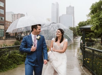 How to handle bad weather on your wedding day
