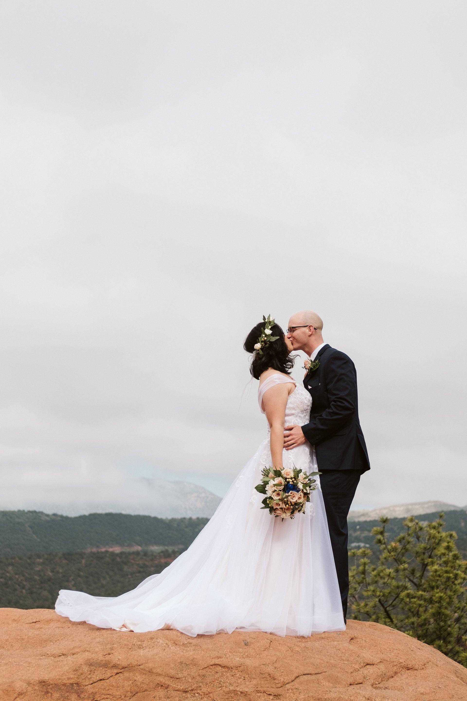 Garden of the Gods elopement in Colorado Springs