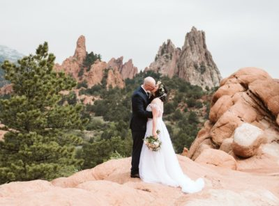 Laura + James' Garden of the Gods Elopement