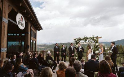 Lucy + Matt's Breckenridge Ski Resort Wedding