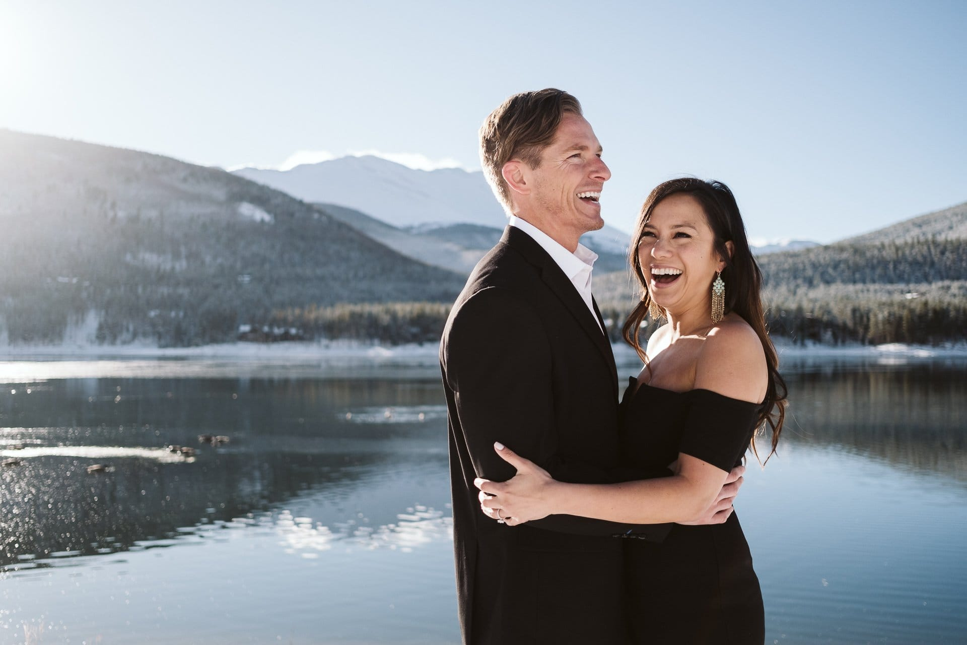 Cassie + Chris' Breckenridge Engagement Session