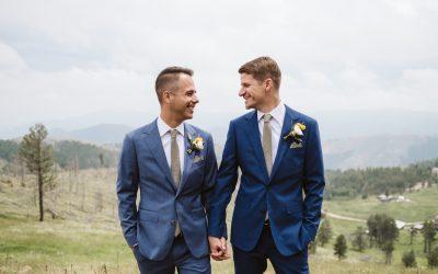 Chris + Erik's Colorado Mountain Ranch Wedding