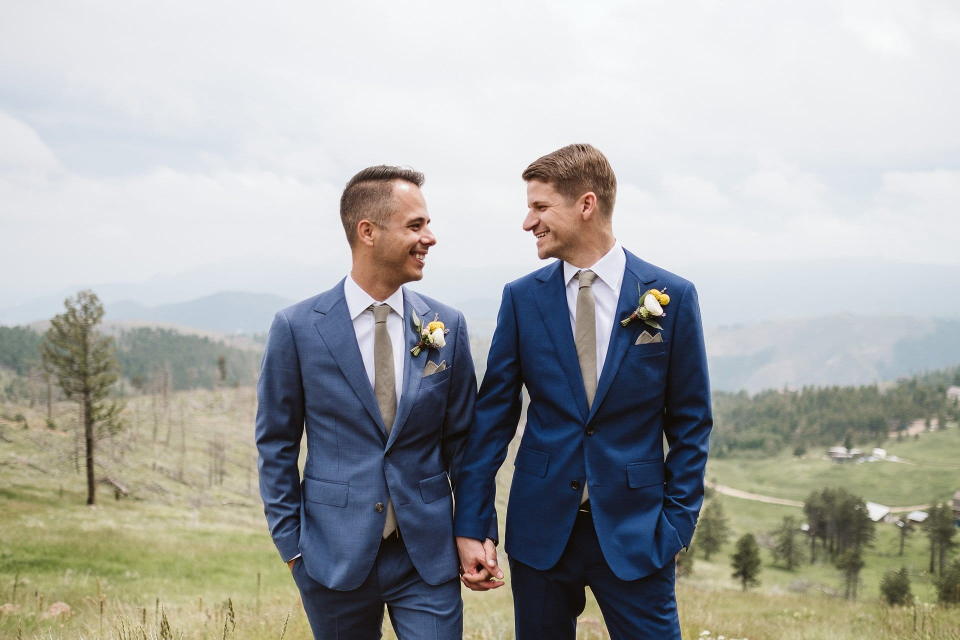 Chris + Erik's Colorado Mountain Ranch Wedding