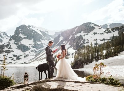 Mary + Nick's Indian Peaks Wilderness Elopement