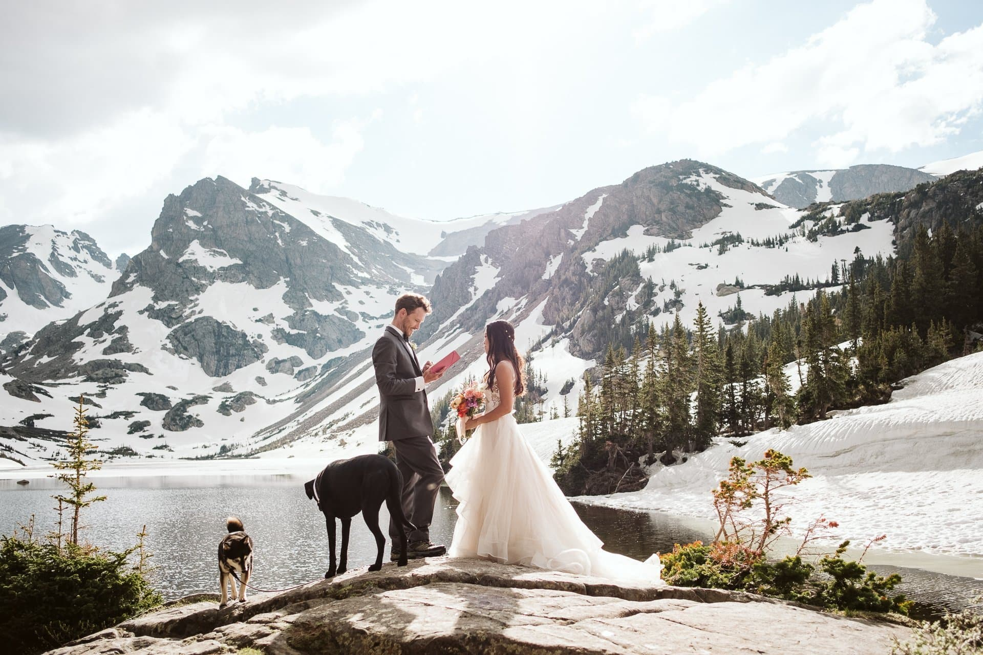 Indian Peaks Wilderness hiking elopement