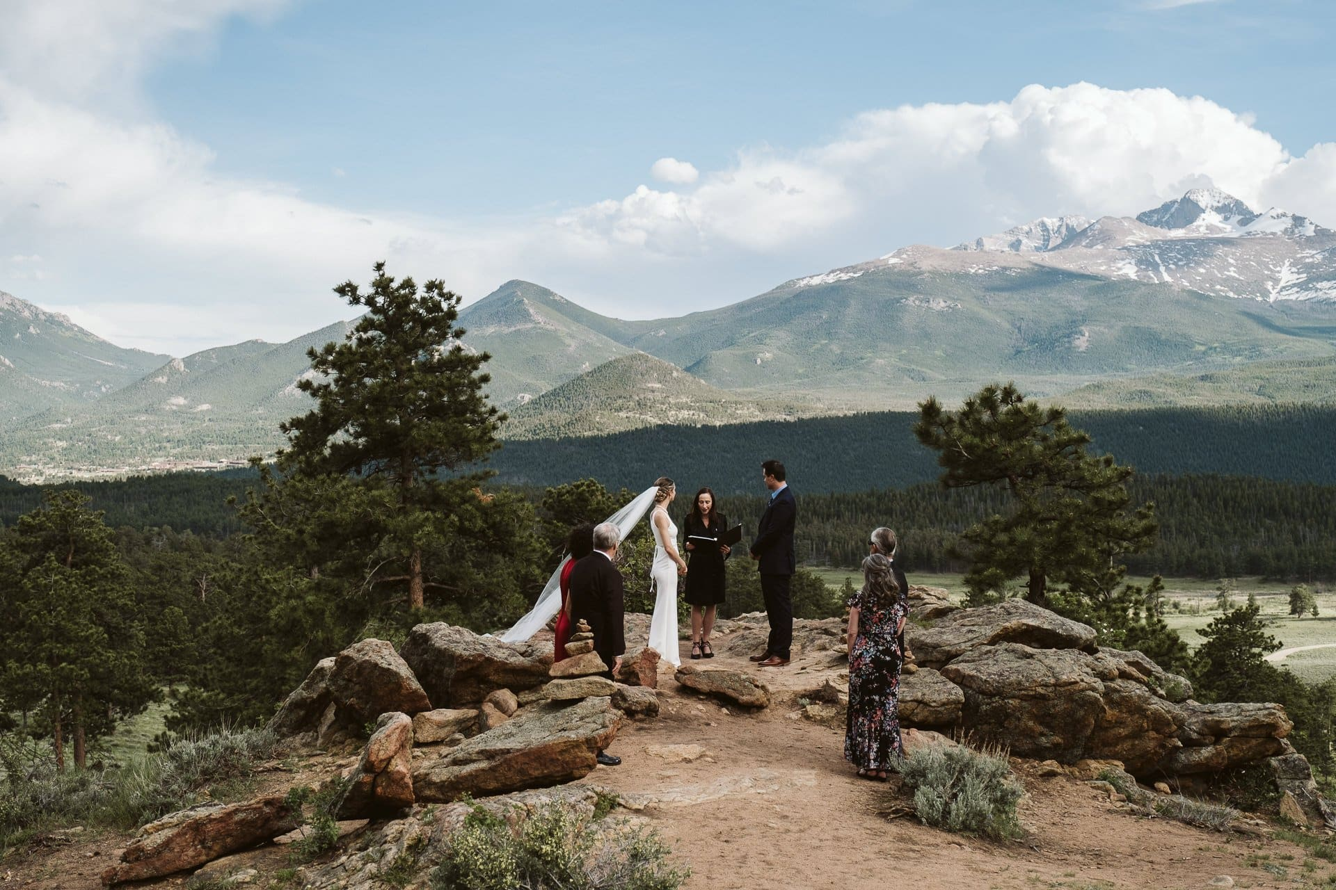Elopement at 3M Curve in RMNP