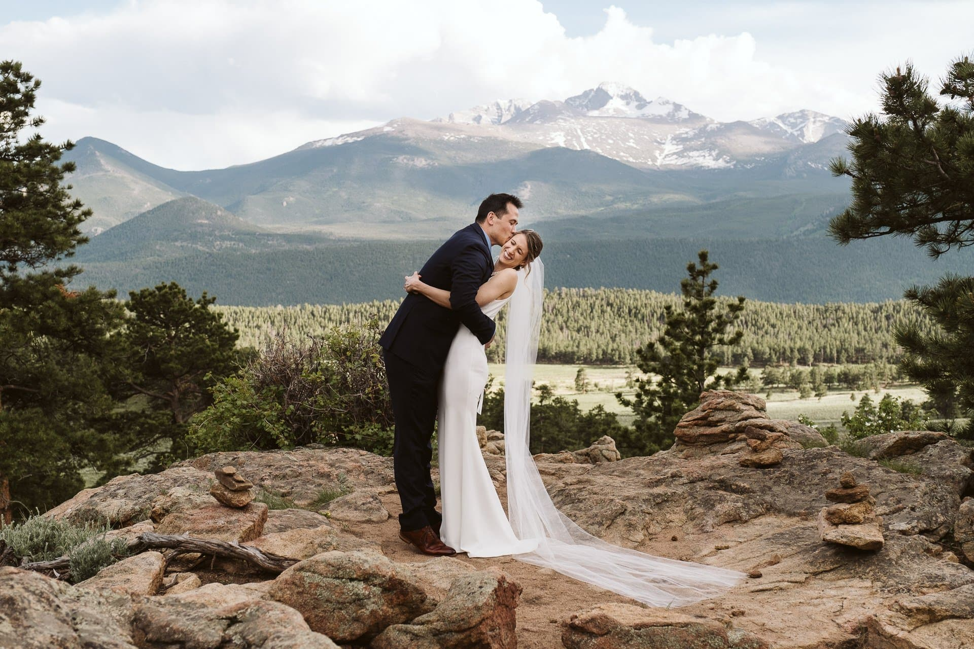 3M Curve elopement in Rocky Mountain National Park