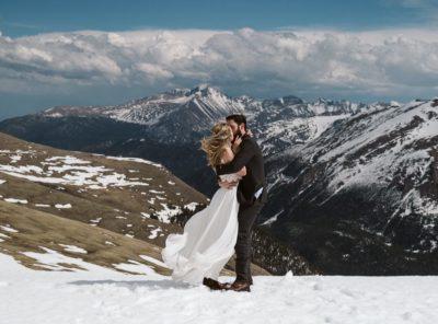 Lauren + Charlie's Rocky Mountain National Park Elopement