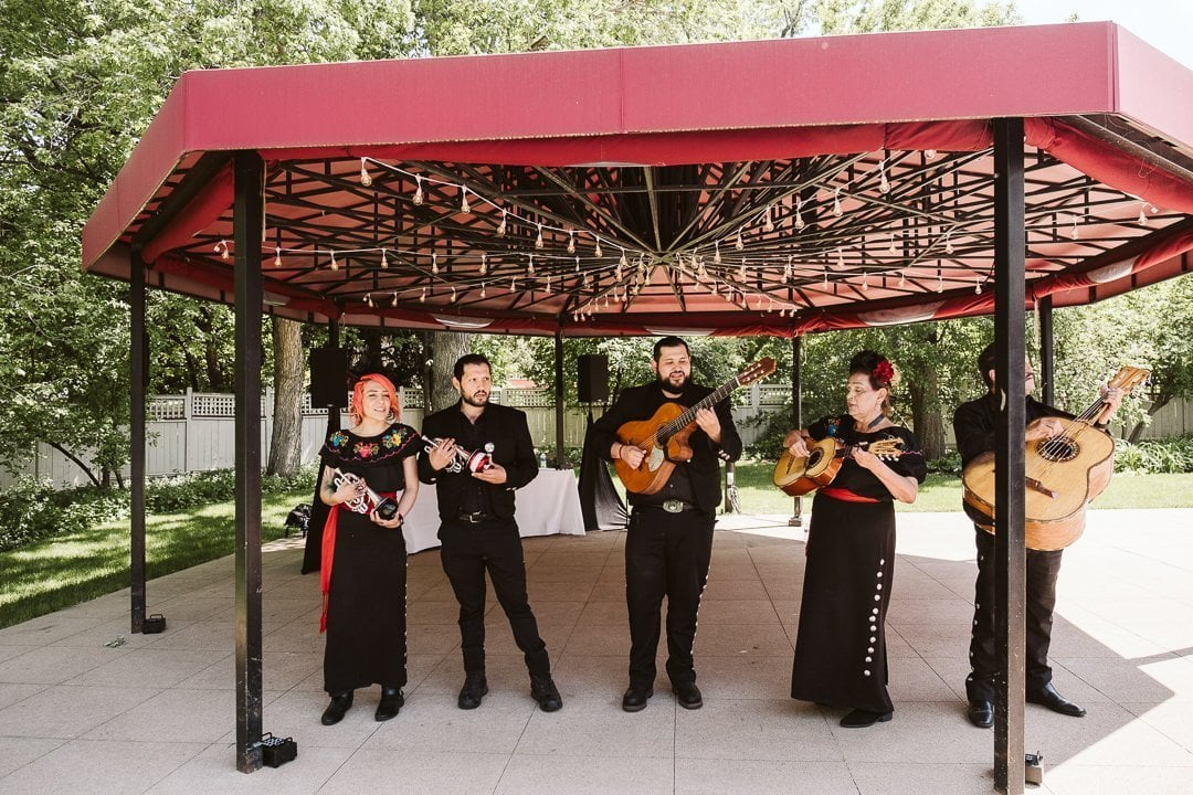 Wedding mariachi band in Boulder at CU Koenig Alumni Center wedding