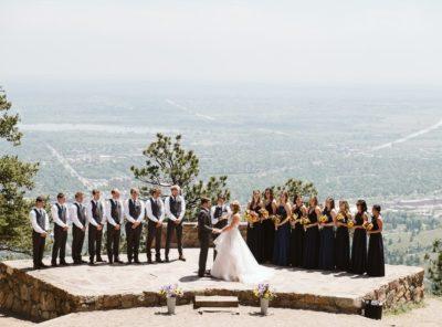 Kasia + Cody's Sunrise Amphitheater Wedding