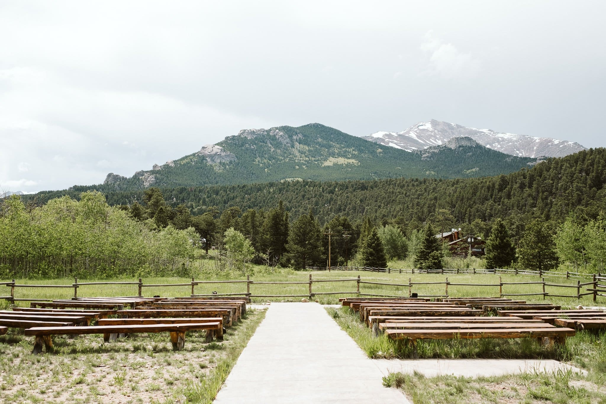 Wild Basin Lodge wedding venue in Allenspark