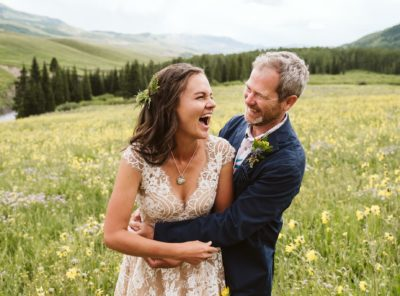 Kate + Greg's Crested Butte Wildflower Wedding
