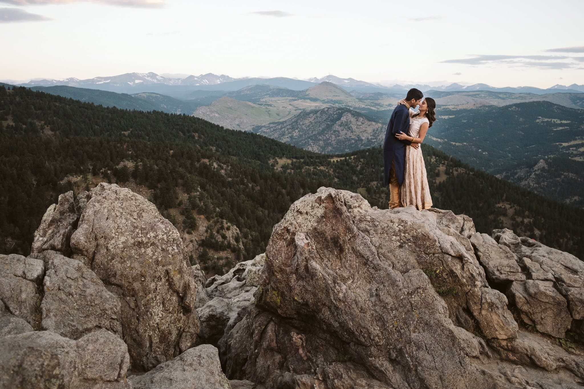 Lost Gulch engagement session in Boulder, Boulder elopement photographer