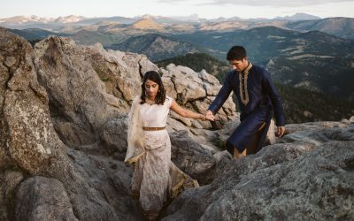 Eslin + Bobby's Lost Gulch Engagement Session