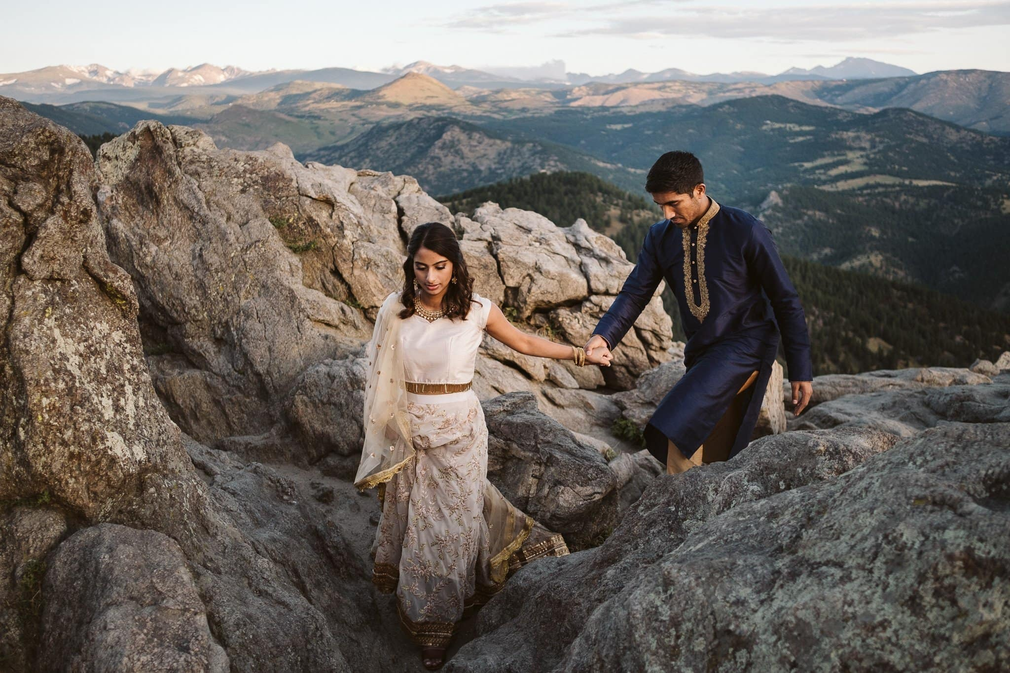 Lost Gulch engagement session in Boulder, Colorado