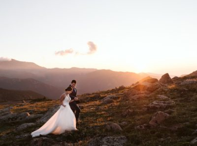 Kelsey + Mark's Sunrise RMNP Elopement