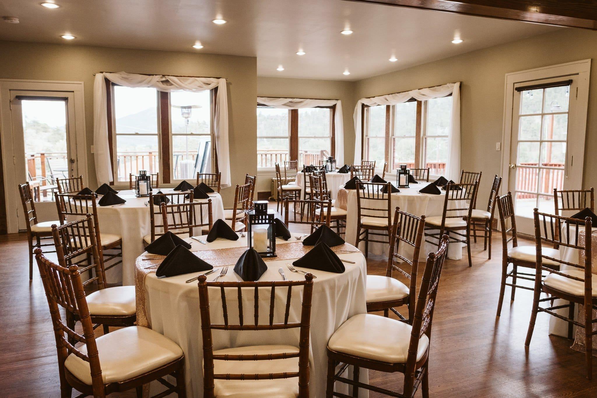 Bristlecone Inn wedding venue in Estes Park