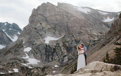 Lindsey + Kris' Indian Peaks Wilderness Engagement