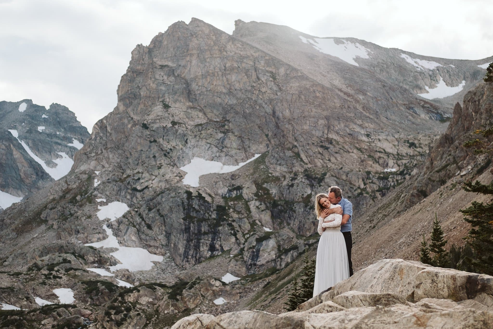 Lindsey + Kris' Indian Peaks Wilderness Engagement