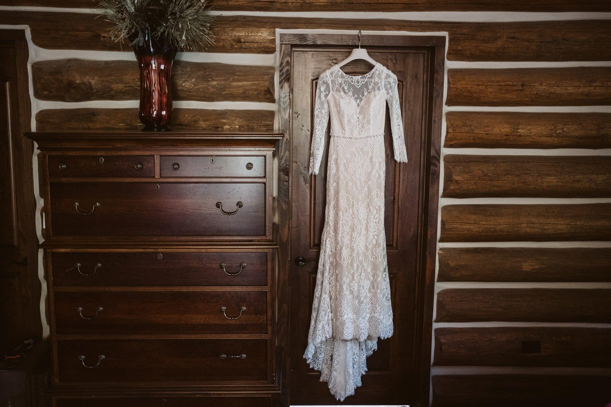 Ortiva wedding dress from White One by Pronovias, long sleeve elegant wedding dress