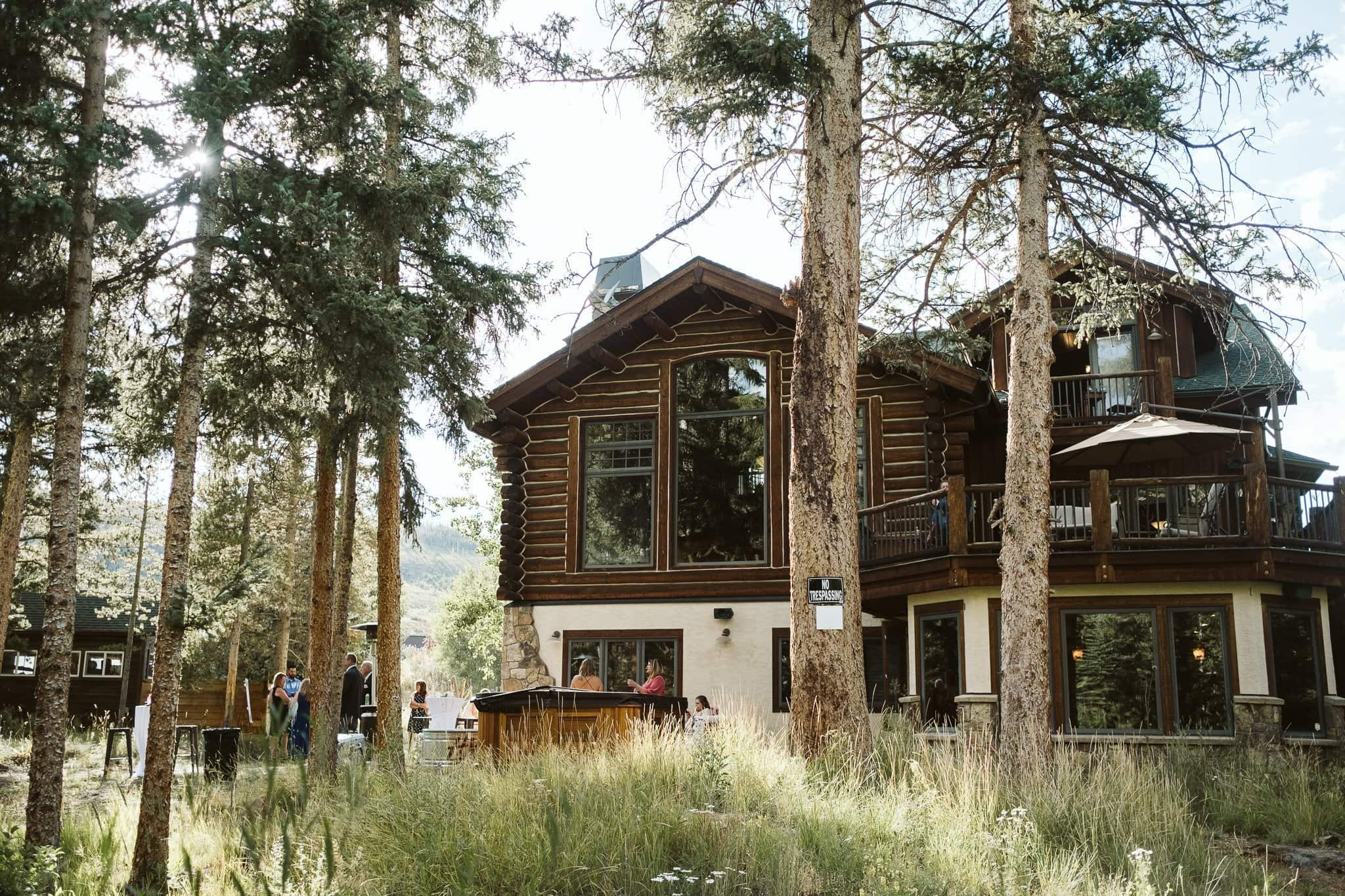 Rivertree Lodge wedding venue in Breckenridge, Colorado intimate wedding venue