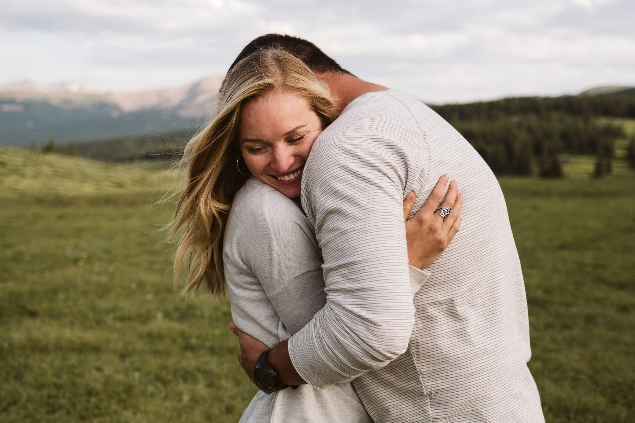 Kira + Stephen's Vail Mountain Engagement