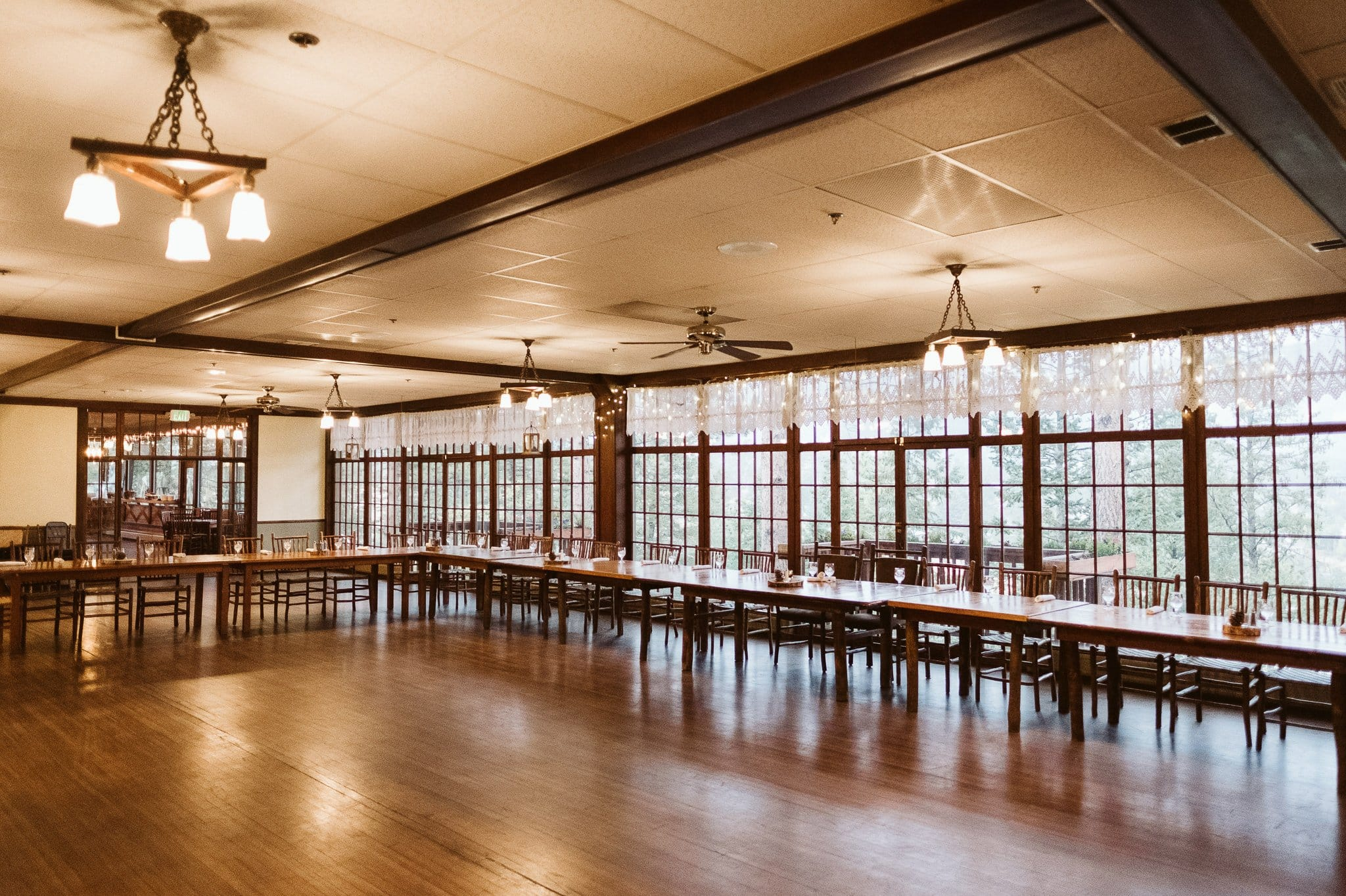 The View at Historic Crags Lodge, Estes Park wedding reception venue