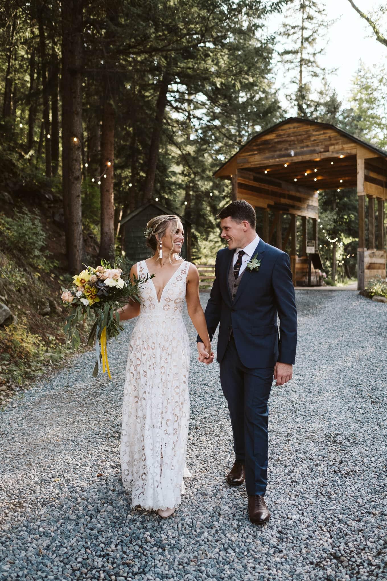 Bride and groom portraits at Blackstone Rivers Ranch wedding venue in Idaho Springs