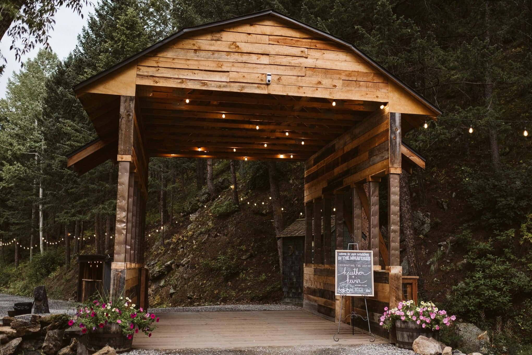 Blackstone Rivers Ranch wedding venue in Idaho Springs