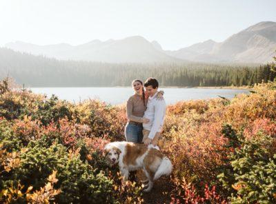 Alexandra + David's Brainard Lake Engagement