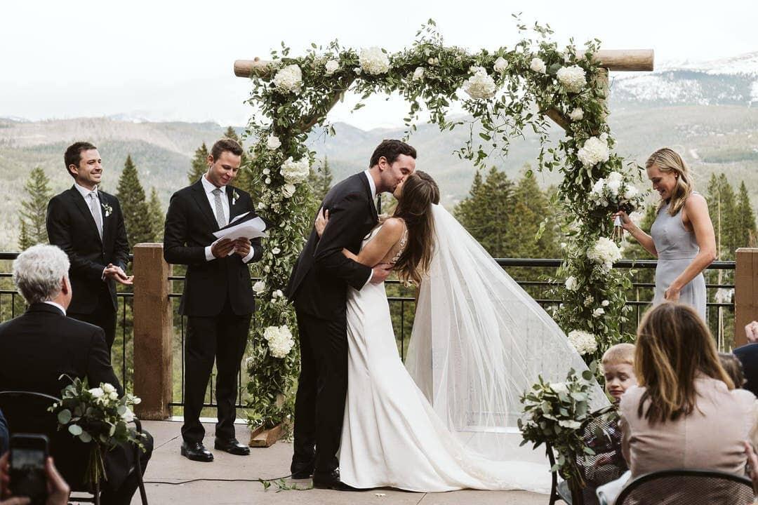 Breckenridge ski resort wedding ceremony