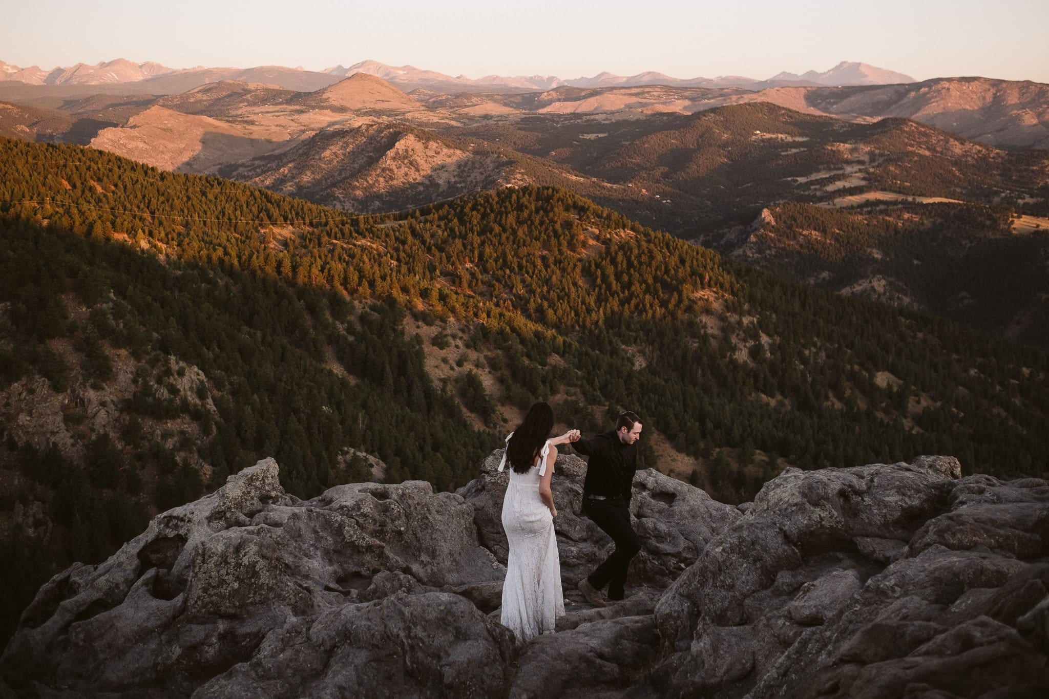 Lost Gulch wedding photos in Boulder