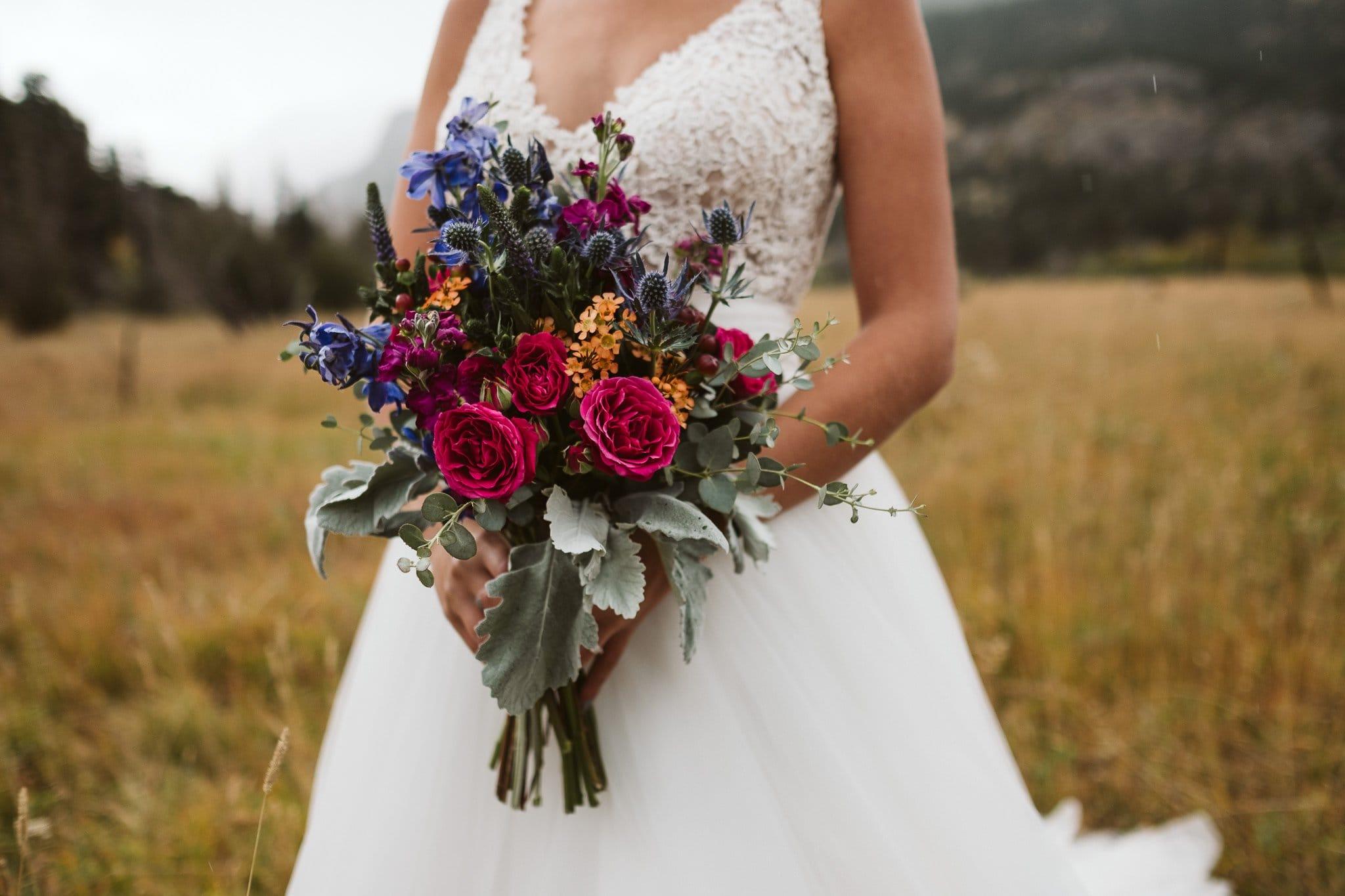 The Enchanted Florist in Estes Park, Colorado wedding florist