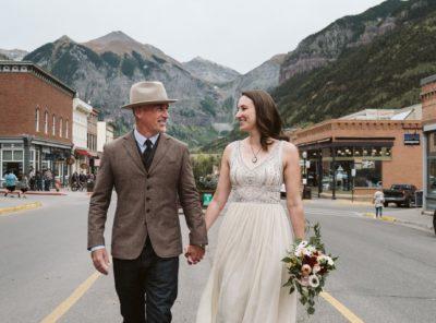 Jenn + Bill's Telluride Mountain Elopement