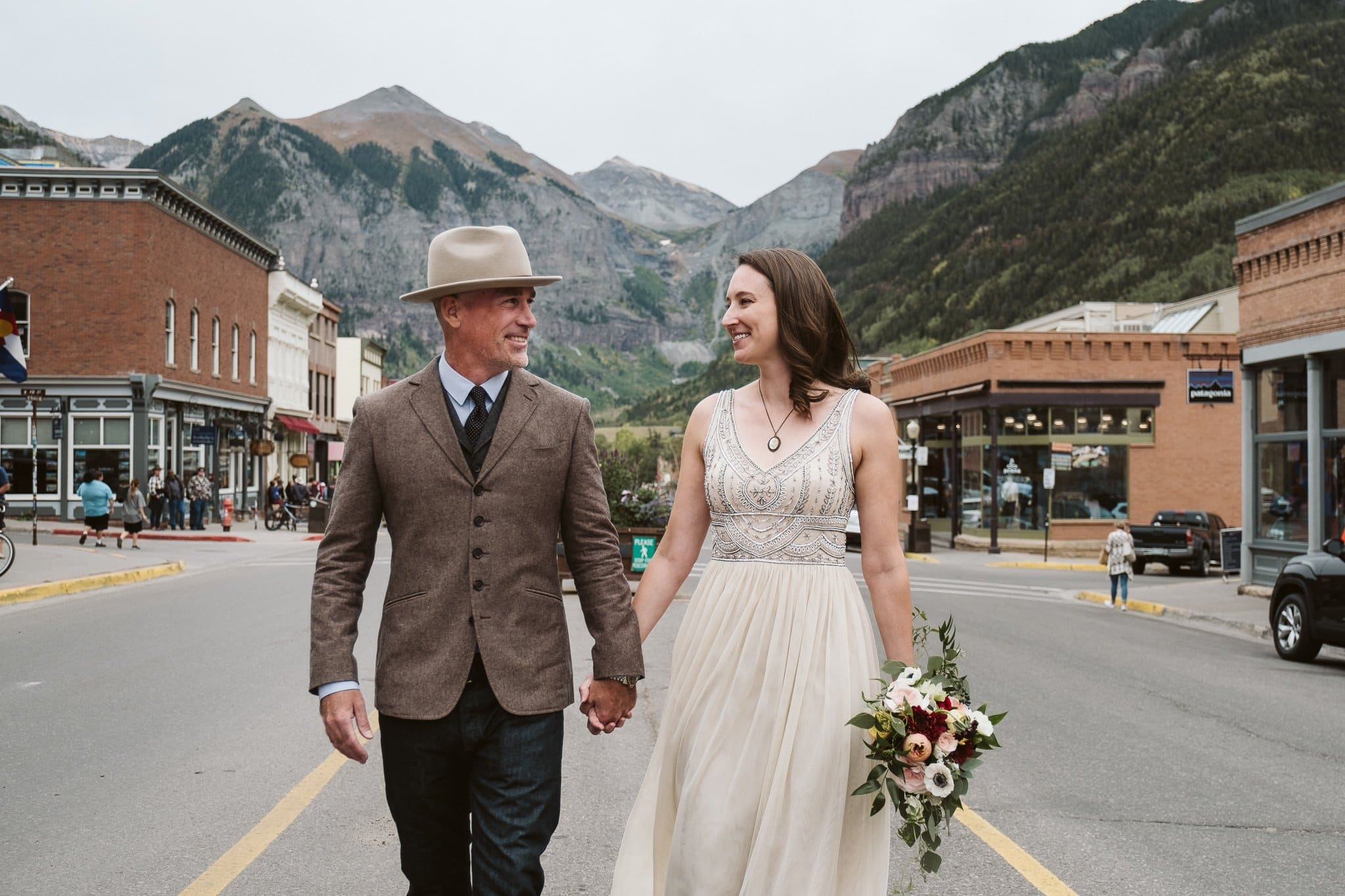 Jenn + Bill's Telluride Mountain Elopement