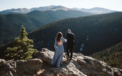 Samantha + Joseph's Idaho Springs Engagement