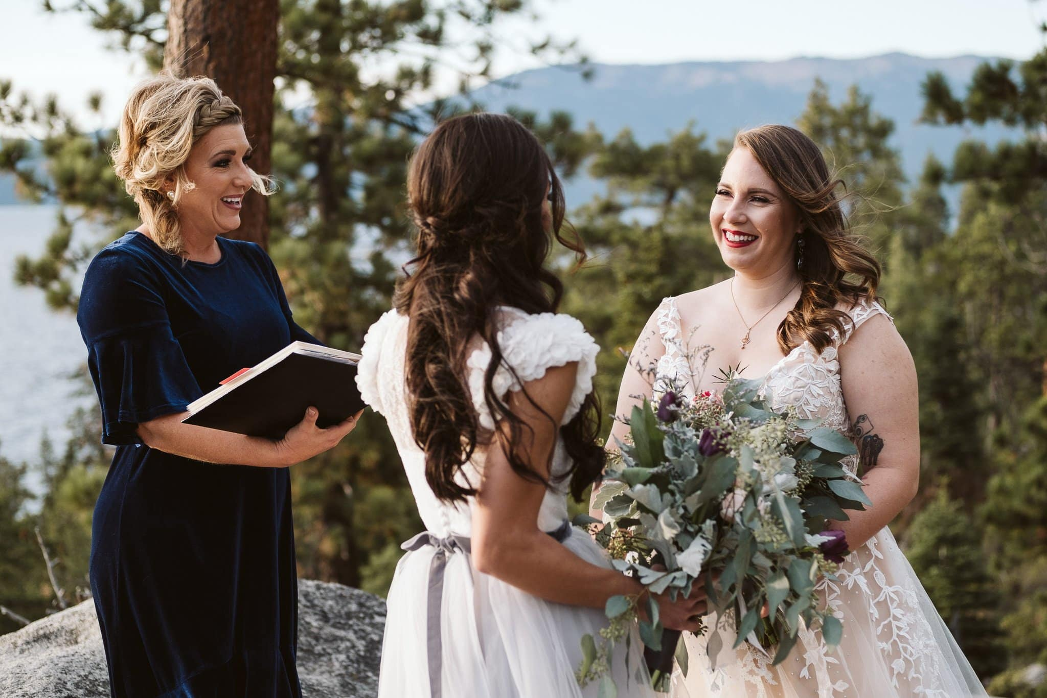 LGBT adventure elopement