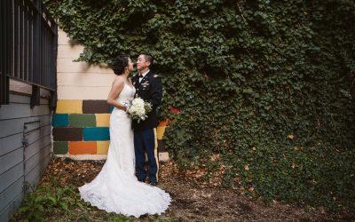 Ashley + Wayne's Rembrandt Yard Wedding