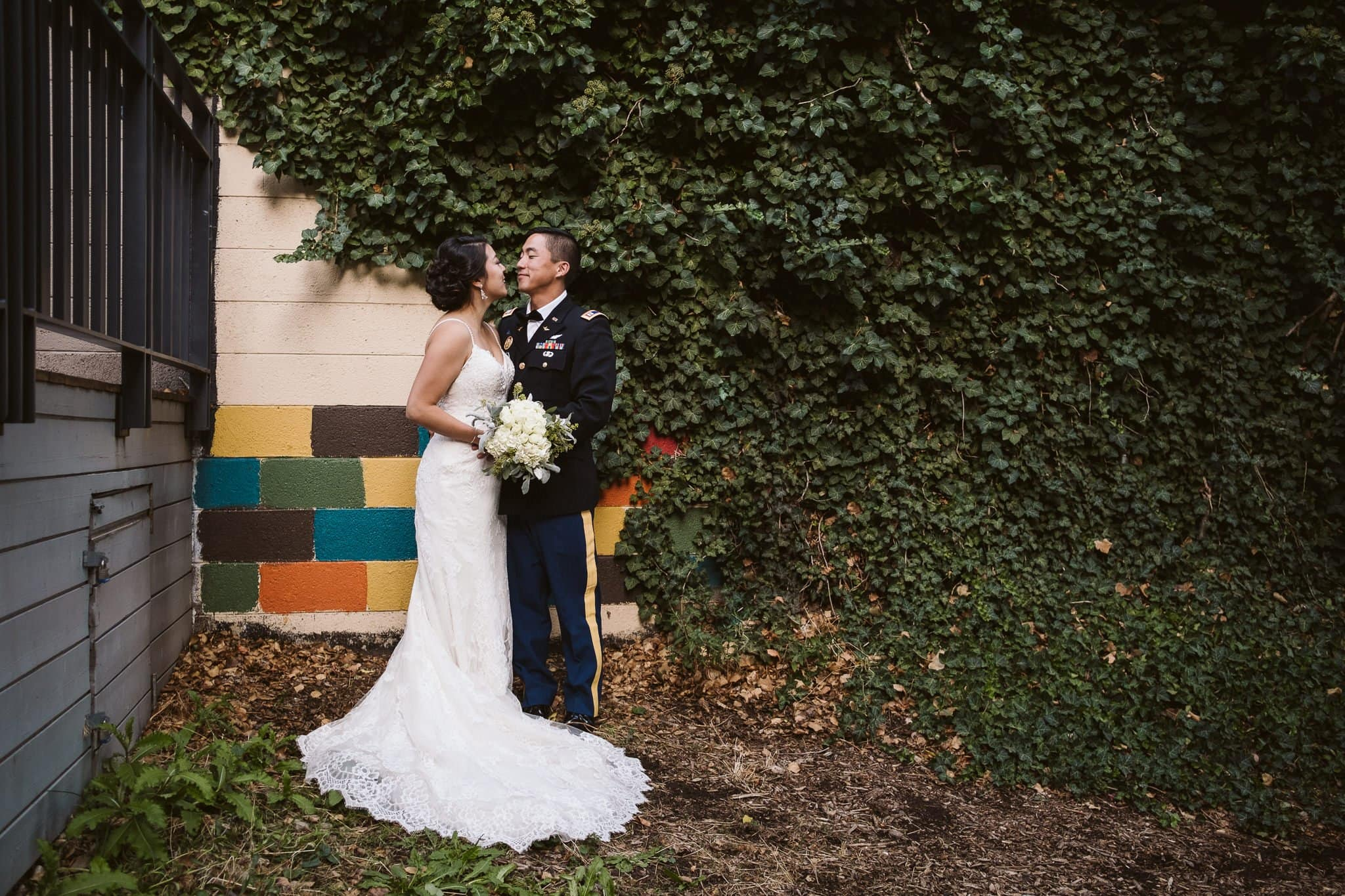 Rembrandt Yard wedding, Boulder wedding photographer