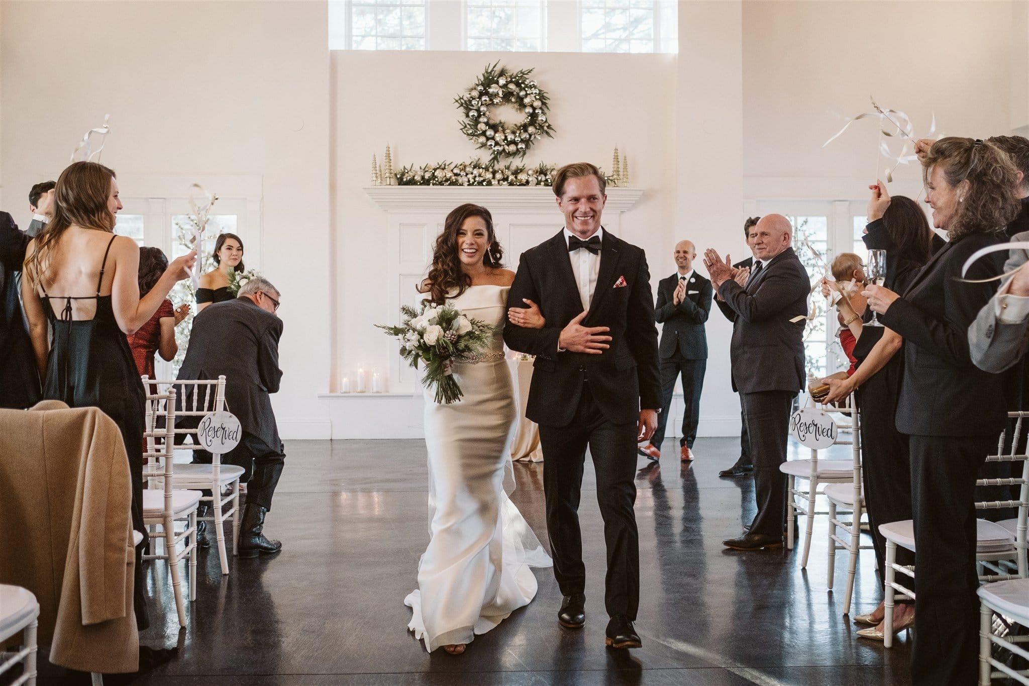 Indoor wedding venue in Denver at The Manor House