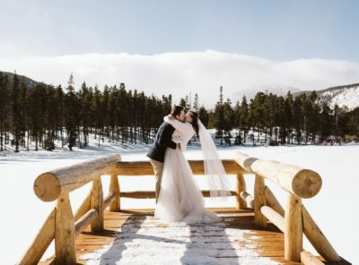 Varvara + George's Sprague Lake Elopement