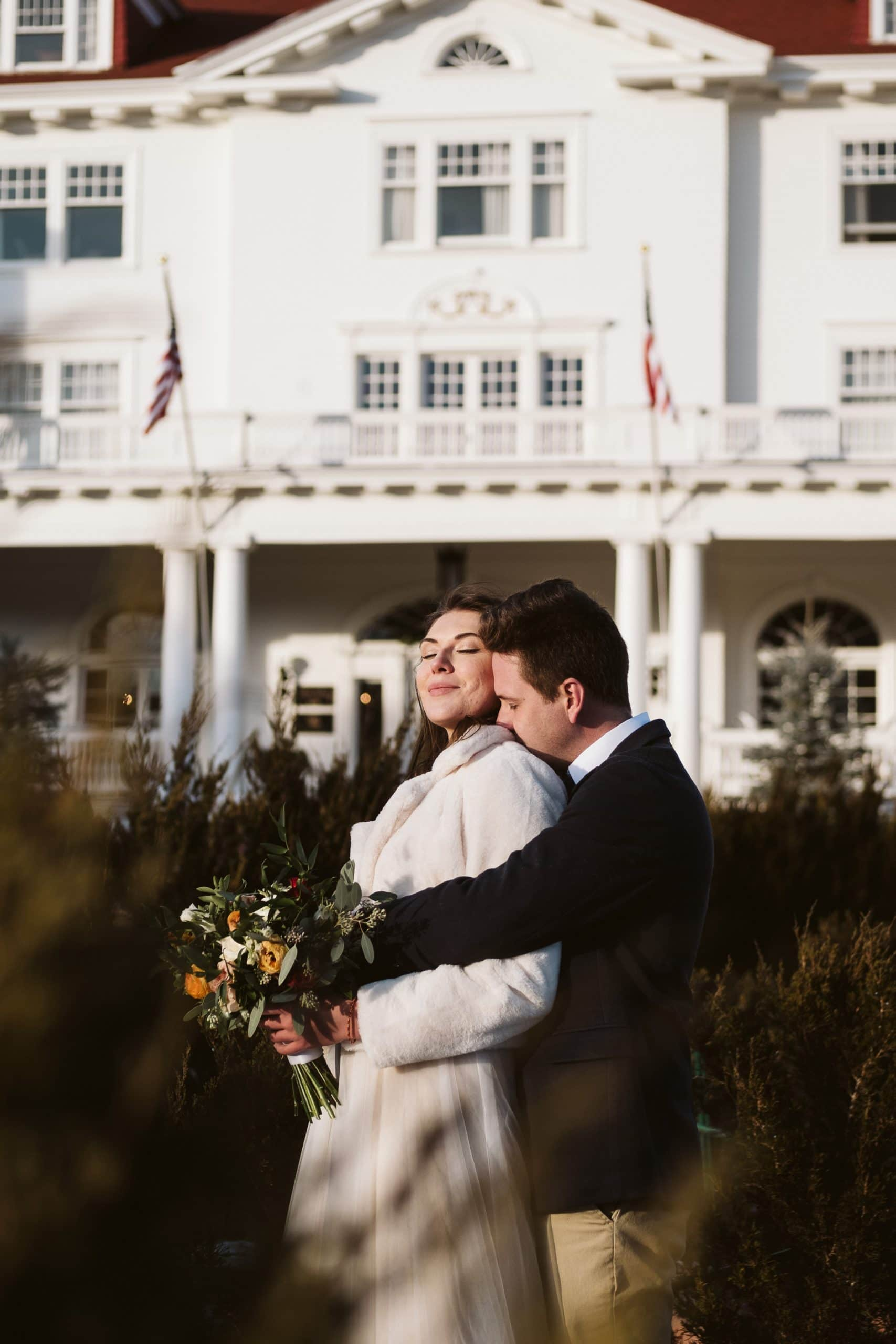 The Stanley Hotel wedding in Estes Park, Colorado.